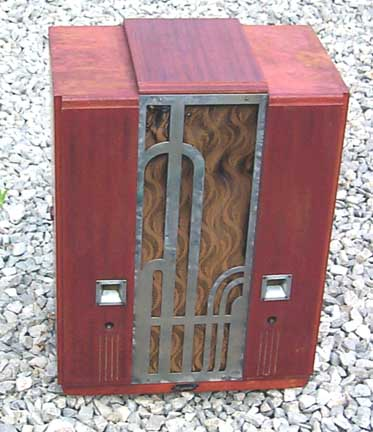 plasticradios com: Majestic 161 Radio - Restoration Case History